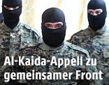 Vermummte IS-Kämpfer im Irak