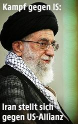 Irans oberster Führer Ayatollah Khamenei