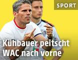 WAC-Trainer Dietmar Kühbauer