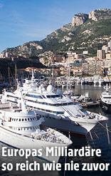 Jachthafen von Monte Carlo
