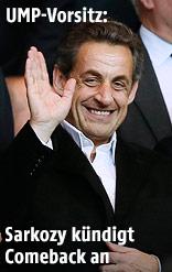 Frankreichs Ex-Präsidente Nicolas Sarkozy