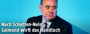 Der schottische Regierungschef Alex Salmond