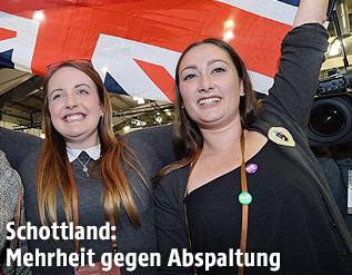 Jubel der schottischen Abspaltungsgegner