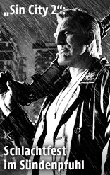 "US-Schauspieler Micky Rourke als Marv in ""Sin City 2: A Dame to Kill for"""