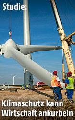 Aufbau einer Windturbine