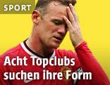 Wayne Rooney ist enttäuscht