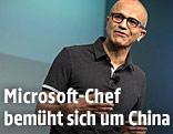 Satya Nadella, CEO von Microsoft
