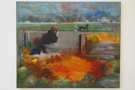 """Werk aus der Austellung """"die zukunft der malerei – eine perspektive"""""""