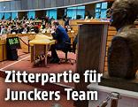 Blick in den Anhörungssaal im Europäischen Parlament