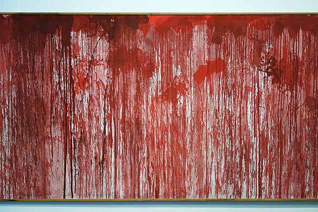 Kunstwerk von Hermann Nitsch