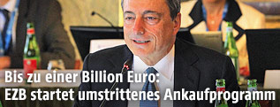 EZB-Chef Mario Draghi in Neapel