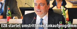 EZB-Chef Mario Draghi in Neapel