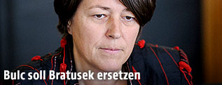 Slowenische Entwicklungsministerin Violeta Bulc