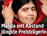 Friedensnobelpreisträgerin Malala Yousafzai