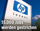 Logo von Hewlett-Packard (HP)