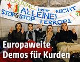 Kundgebung gegen IS vor dem Parlament in Wien