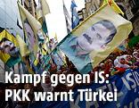 PKK-Demo in Istanbul