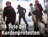 Türkische Polizeikräfte