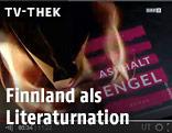 Screenshot aus einem TV-Thek-Beitrag zur finnischen Literatur
