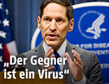 Tom Frieden, Chef der US-Seuchenbehörde CDC (Centers for Disease Control and Prevention)