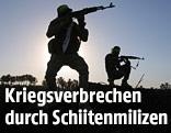 Kämpfer der Schiiten Milizen