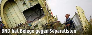 Wrack des Fluges MH17