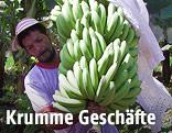 Arbeiter mit Bananen