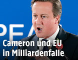 Britischer Premier Cameron