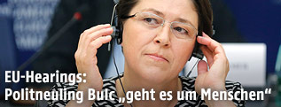 Sloweniens designierte EU-Kommissarin Violeta Bulc