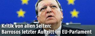 Der scheidende EU-Präsident Manuel Barroso
