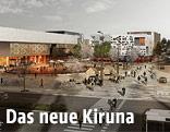 Rendering der geplanten Stadtansicht