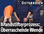 Der Angeklagte vor Prozessbeginn am Wiener Straflandesgericht