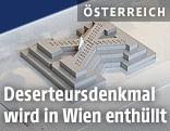 Modell des Deserteursdenkmals