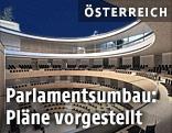 Rendering des Parlaments nach dem Umbau