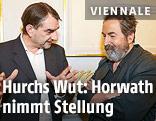 Alexander Horwath (Filmmuseum) und Viennale-Direktor Hans Hurch