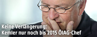 Rudolf Kemler (Vorstand ÖIAG und IOÖ-Präsident)