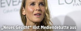 Schauspielerin Renee Zellweger nach Gesichtsoperation