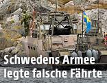 Schwedisches Marineboot