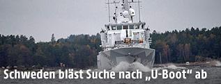 Minensuchschiff der schwedischen Marine