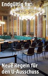 Saal im Parlament
