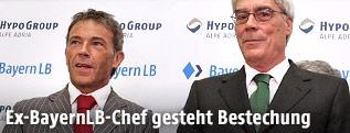 Jörg Haider und Ex-BayernLB-Chef Werner Schmidt