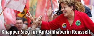 Die brasilianische Staatschefin Dilma Rousseff