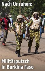 Soldaten und Zivilisten
