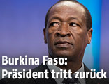 Der zurückgetretene Präsident von Burkina Faso, Blaise Compaore