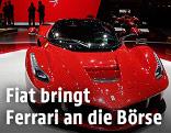 Ausgestellter Ferrari LaFerrari