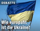 Ukrainische Fahne