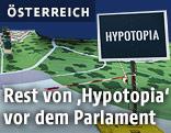 """Ansicht des Modells der """"Milliardenstadt Hypotopia"""""""