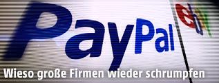 Logo von PayPal und eBay
