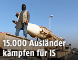 IS-Kämpfer bei Miliärparade