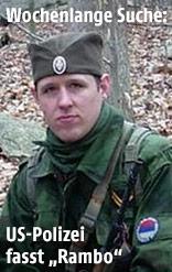 Mutmaßliche Polizistenmörder Eric Frein